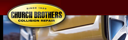Church Brothers Collision Repair serving Indianapolis, Carmel and Fishers